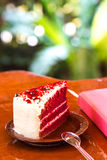 Red velvet cake Royalty Free Stock Photos