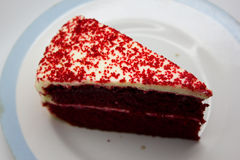Red Velvet Chocolate Cake Royalty Free Stock Image