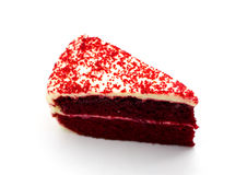 Red Velvet Chocolate Cake Royalty Free Stock Photo