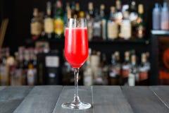 Red Velvet Cocktail Stock Image