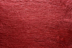 Red velvet color paper texture background Royalty Free Stock Photos