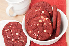 Red Velvet Cookies Royalty Free Stock Images