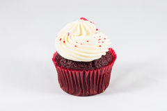 Red velvet cup cake Stock Image