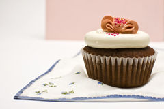 Red Velvet Cupcake Royalty Free Stock Photo