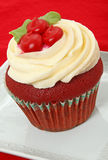 Red Velvet Cupcake Royalty Free Stock Image