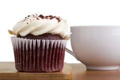 Red Velvet Cupcake Stock Photography