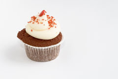 Red Velvet Cupcake. This is a Red Velvet Cupcake Royalty Free Stock Photography