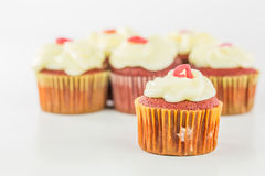 Red Velvet Cupcake IV Royalty Free Stock Photo