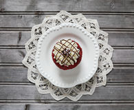 Red Velvet cupcake Royalty Free Stock Images