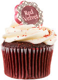 Red Velvet Cupcake Royalty Free Stock Image