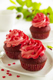 Red velvet cupcakes Royalty Free Stock Image