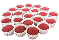 Red Velvet Cupcakes IV Royalty Free Stock Image