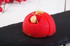 Red velvet dessert Royalty Free Stock Images