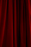 Red Velvet Drapes Stock Photos