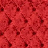 Red velvet sofa pattetn Royalty Free Stock Photography