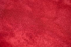Red velvet texture Stock Image