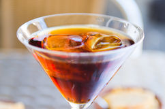 Red vermouth Royalty Free Stock Image