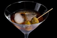 Red vermouth wine Royalty Free Stock Image