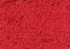 Red vibrant velvet. Royalty Free Stock Photography
