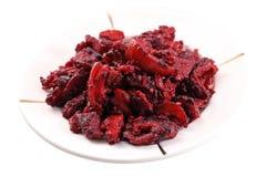 Red Vinasse Pork Meat Royalty Free Stock Image
