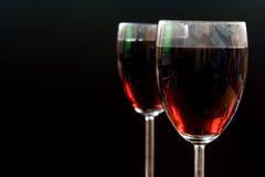 Red vine. Reflection, style, taste, vine, vineyard royalty free stock images