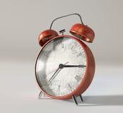 Red Vintage Alarm Clock Stock Photos