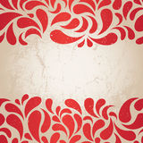 Red vintage background Stock Images