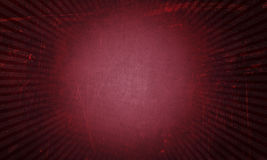 Red vintage background. Red grunge vintage background with sunbeam effect stock image