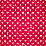 Red vintage background with stars Stock Image