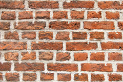 Red vintage brick wall Stock Photography