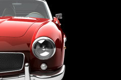Red Vintage Car Royalty Free Stock Photos