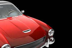 Red Vintage Car Royalty Free Stock Images