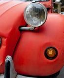 Red Vintage car detail Royalty Free Stock Photos