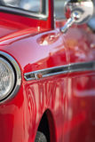 Red vintage car Stock Photos