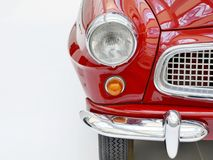 Red vintage car Stock Photography