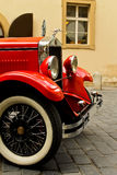 Red vintage car Royalty Free Stock Image