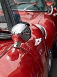 Red vintage cars Royalty Free Stock Image