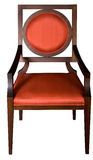 Red vintage chair Royalty Free Stock Images