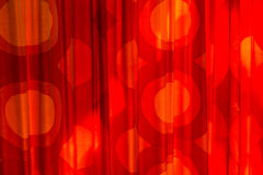 Red Vintage Curtain Royalty Free Stock Photos