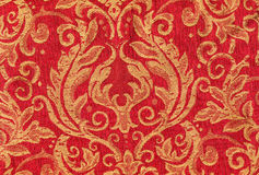 Red vintage fabric Royalty Free Stock Photography