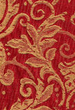 Red vintage fabric Royalty Free Stock Image