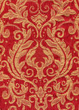 Red vintage fabric Stock Photos