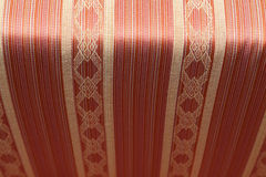 red vintage fabric textile Stock Photo