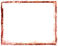 Red vintage frame. Red picture to put your own pictures in or use it for something else Royalty Free Stock Photography