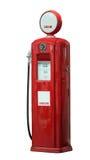 Red vintage gasoline pump Stock Images