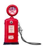 Red vintage gasoline pump Stock Image