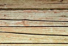 Red vintage planks. Horizontally arranged. Texture. Background.  Stock Image