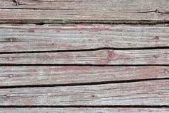 Red vintage planks. Horizontally arranged. Texture. Background Royalty Free Stock Photos