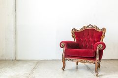Red Chair Royalty Free Stock Photo