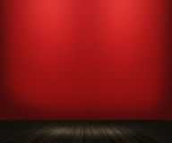 Red Vintage Room Background Royalty Free Stock Photo